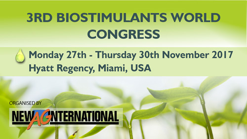 3rd biostimulants world congress